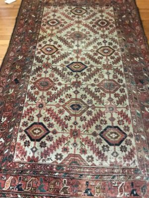 "Antique Kurd, 3'6""x6', 1900"