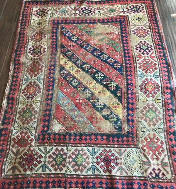 Antique Kazak, 4'x5'