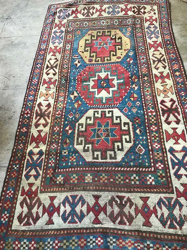 Antique Kazak, 4'x7'